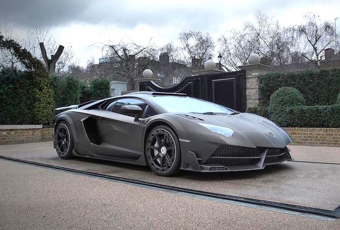 Lamborghini Aventador Mansory Linstantauto